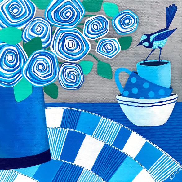 Blue Summer Wren