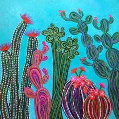Cactus Party no.2 SOLD