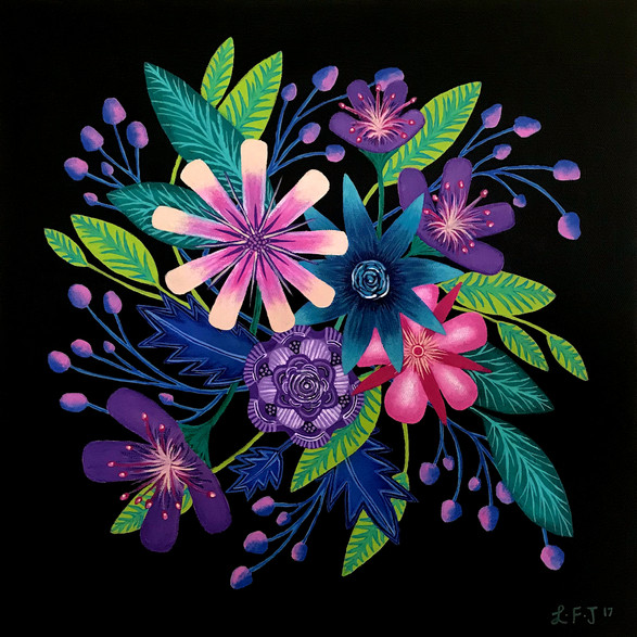 SOLD - Summer Blooms no.4 Original Sold