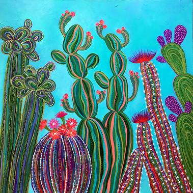 Cactus Party no.1 SOLD