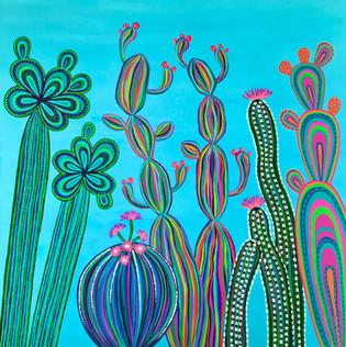 Cactus Party no.3 SOLD