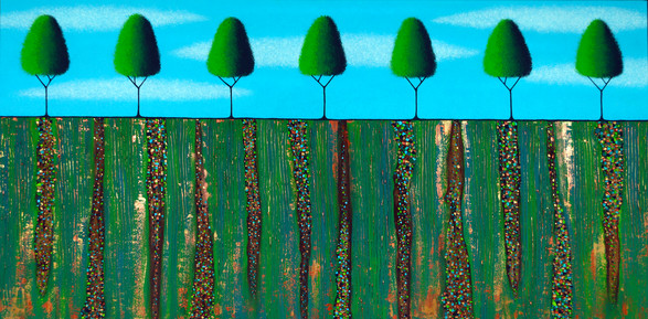 Trees Of Spring - SOLD