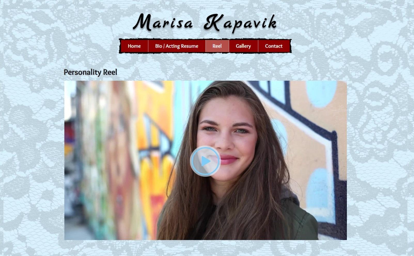 Marisa Kapavik- Actress