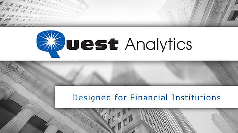 Quest Analytics - for Financial Institutions