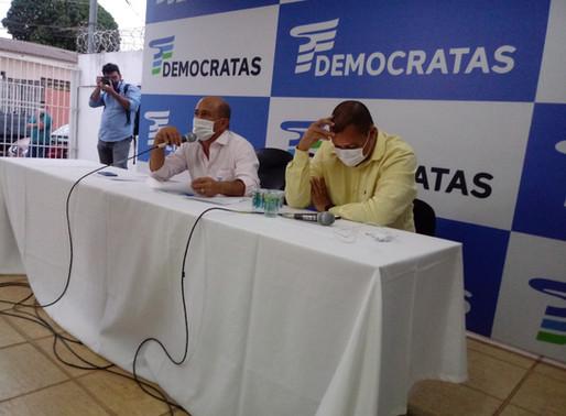 Convenção do DEM Goiás homologa por unanimidade chapa Vanderlan/Wilder