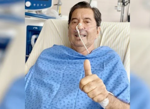Estado de saúde de Maguito se agrava com sangramento pulmonar