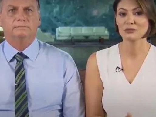A psicose de Jair e Michelle Bolsonaro