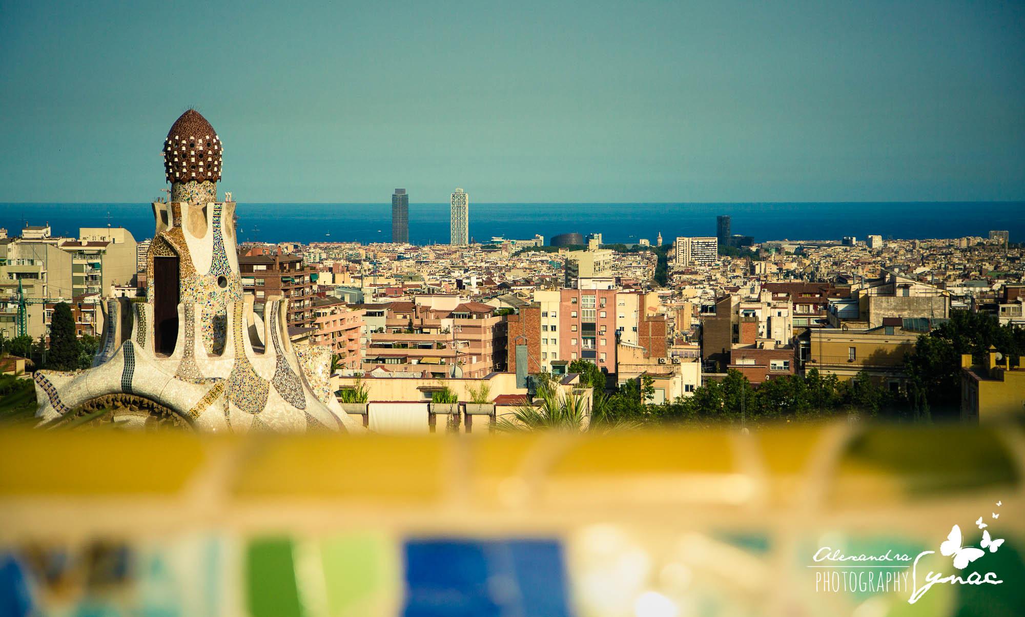 S dětmi v Barceloně