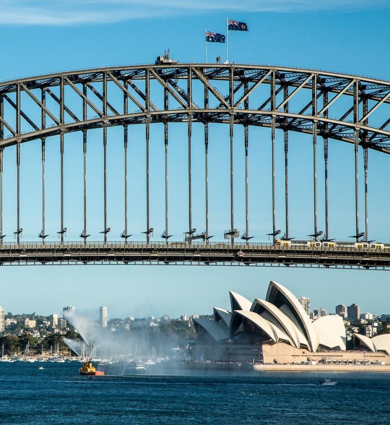 Sydney Opera and Harbour Bridge