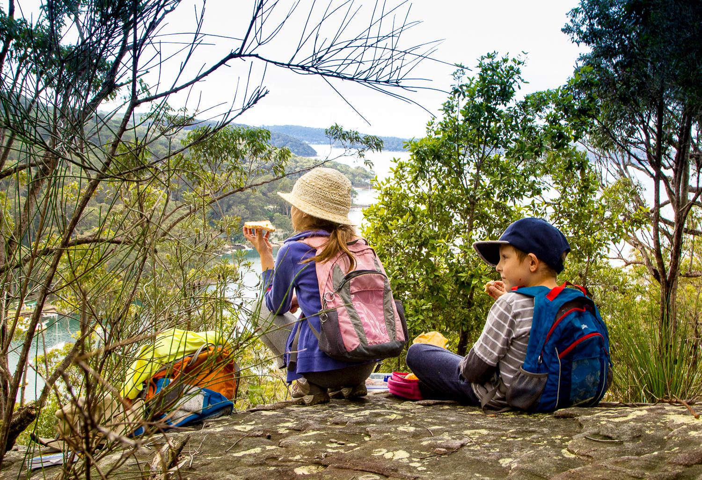 S dětmi v Austrálii