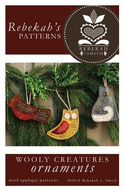 wool applique ornament pattern