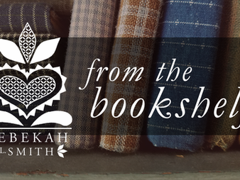 From the Bookshelf: Stitches from the Garden by Kathy Schmitz Giveaway