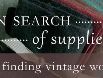 The Search for Wool: Vintage Edition