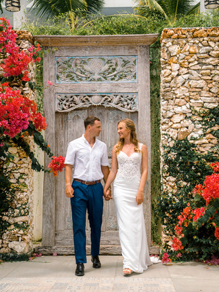Wedding photography with Alyona and Dmitriy in Bali