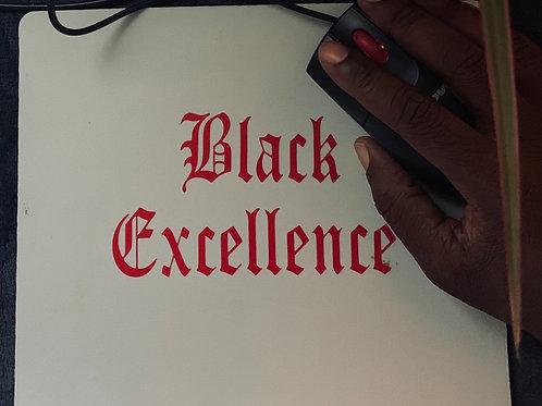 Black Excellence Mousepad