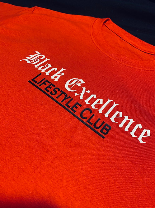 Black Excellence Lifestyle Club T Shirt