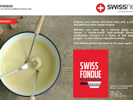 SWISS FONDUE BOOK : A SWISS BEST-SELLER