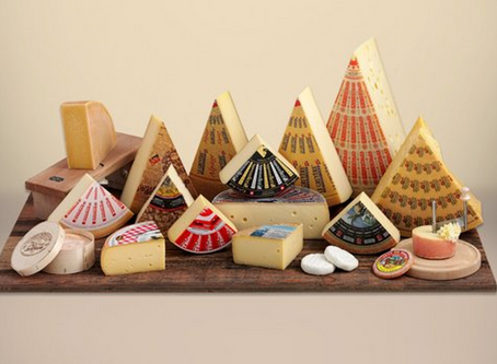 THE MAGICAL TASTE OF THE CHEESES FROM SWITZERLAND