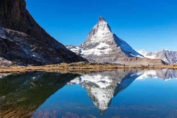 Swiss mountain Matterhorn.