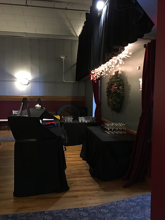 The Auditorium Xmas bar with Village Spirit: Dickens Xmas 2019