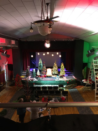 Stage is set for Dickens Xmas 2019