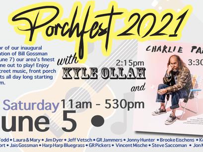 NL Porchfest is Saturday June 5