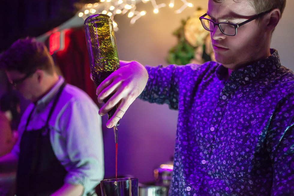Village Spirit serves special Gin Smash Juniper for Pit of Fashion Perennial Show