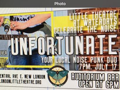 """Auditorium presents """"Unfortunate"""""""