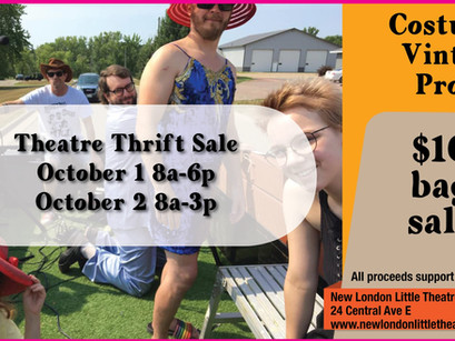Theatre Thrift Sale Today!