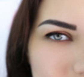 Natural microblading, combo brows, ombre powder shaded brows and lashes Long Beach, CA.
