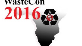 WasteCon 2016 17th to the 21st of October 2016 Emperors Palace, Johannesburg, South Africa