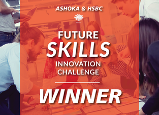 Use It wins HSBC and Ashoka's Future Skills Innovation Challenge
