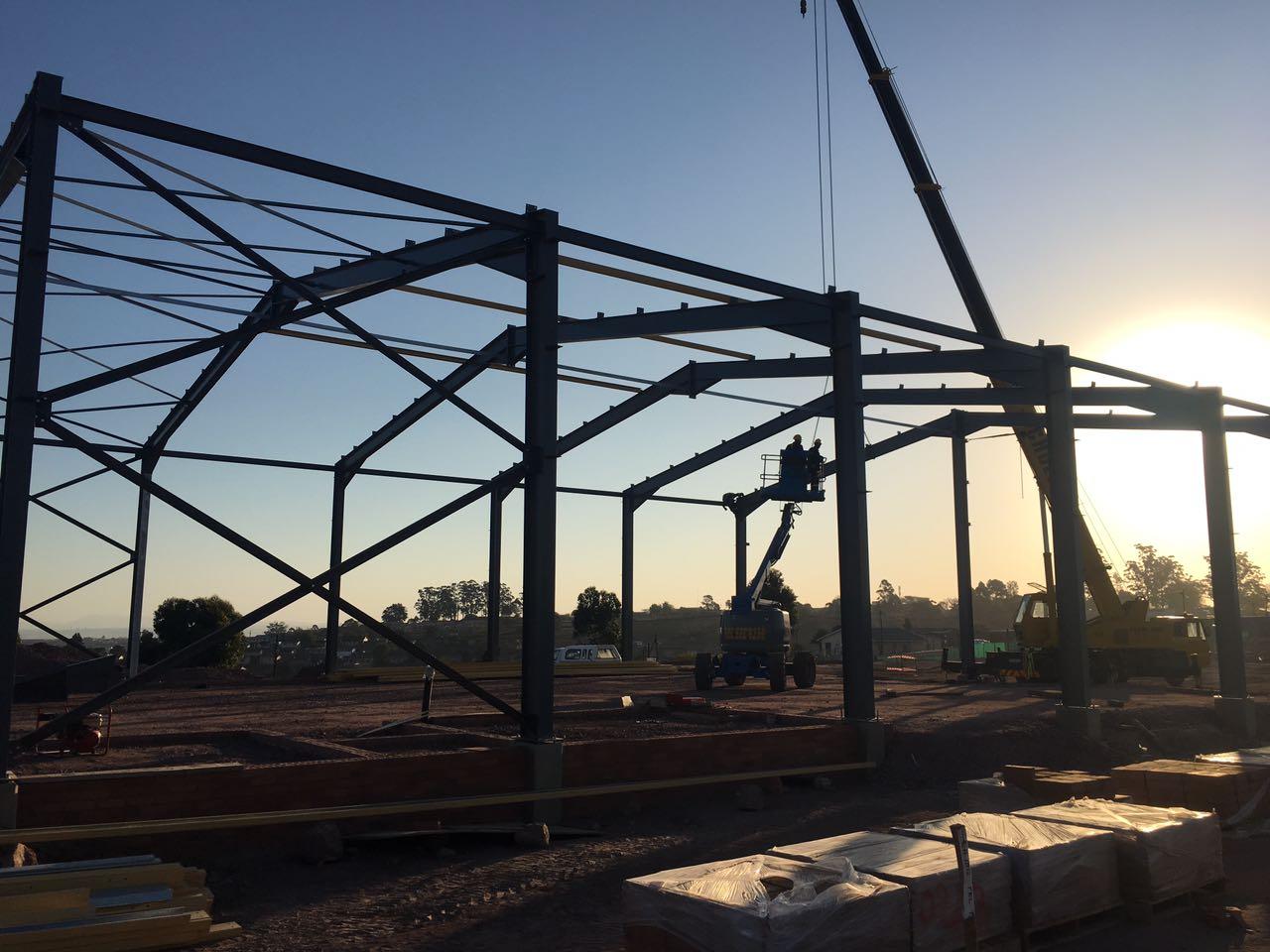Structured Steel 4