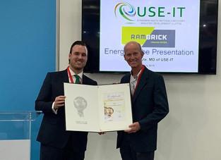 USE-IT Waste Beneficiation (RF) NPC wins prestigious 2019 National award for Sustainability – Inspir