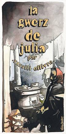 """Affiche """"La gwerz de Julia"""""""