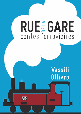 "affiche ""Rue de la Gare"""