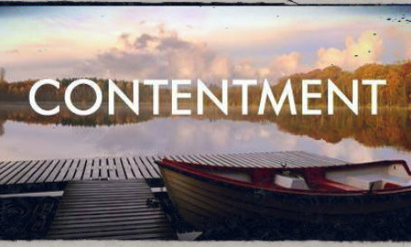 Learning Contentment!
