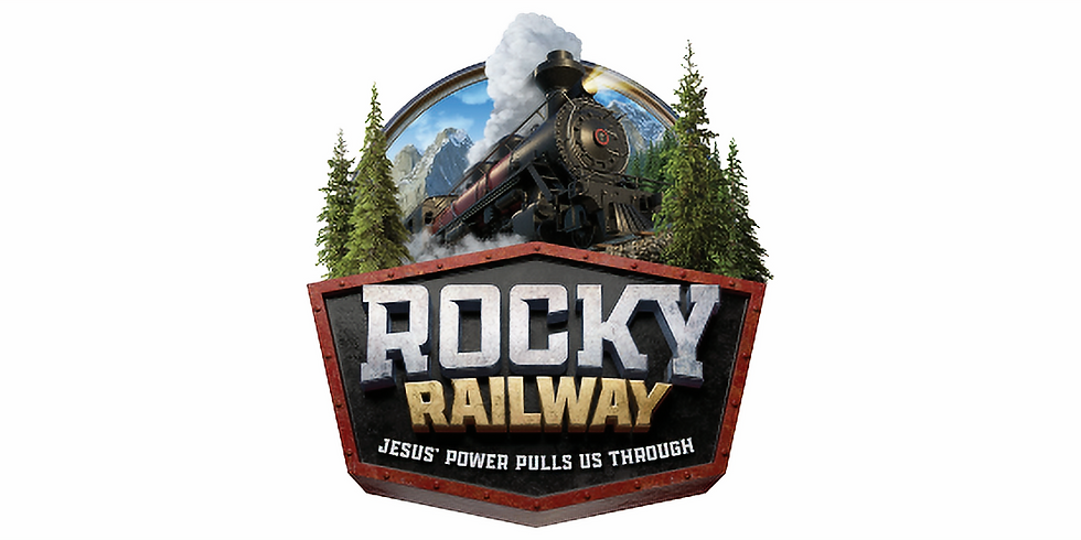 Vacation Bible School - Rocky Railway 2021