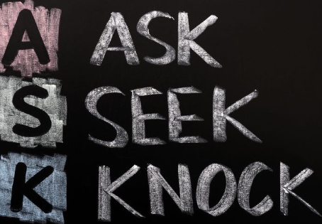 Ask, Seek and Knock!