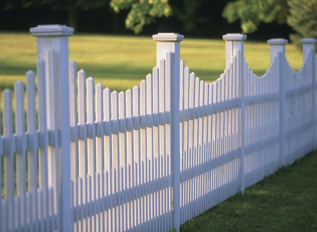 Fences do two things