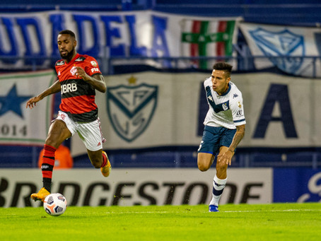 Flamengo vence o Vélez de virada na estréia da Libertadores