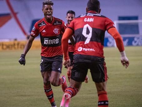 O Flamengo venceu a LDU pela 1ª vez em Quito