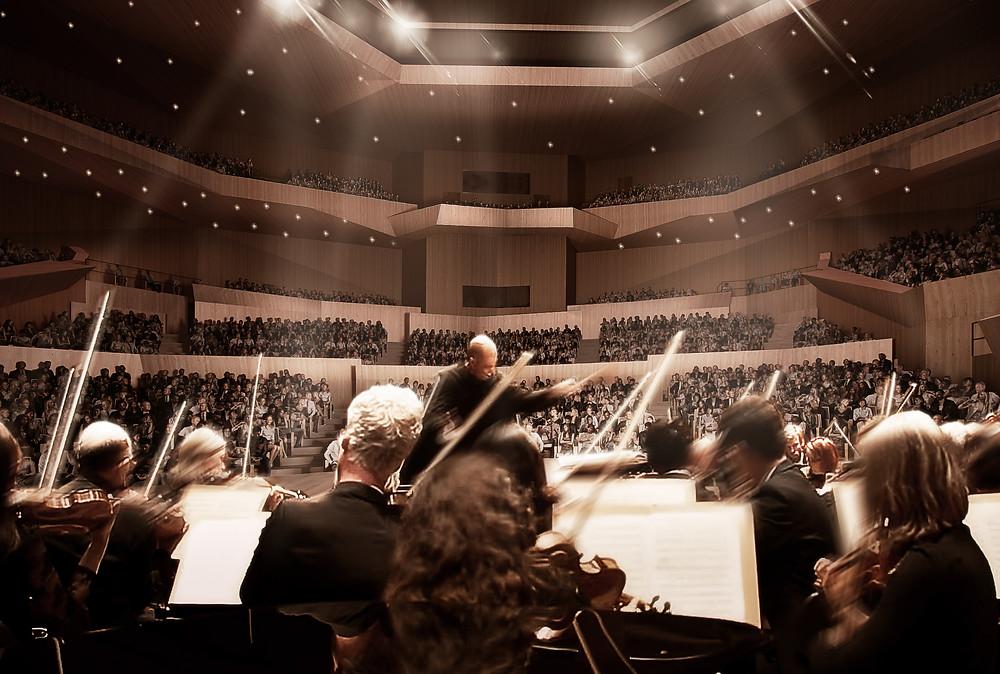 Generalsanierung Gasteig Saal Philharmonie