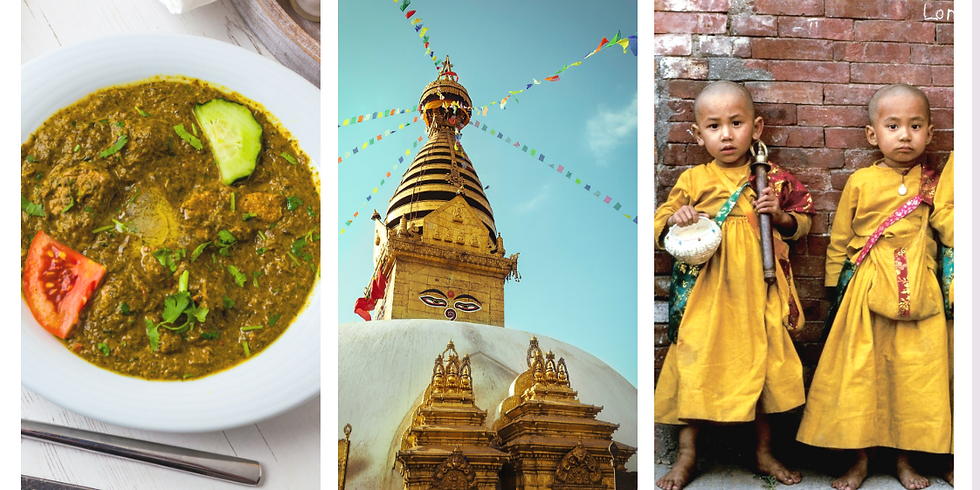 料理de世界一周旅行 ネパール編