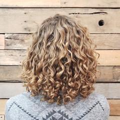 Dry Cut Curly Hair