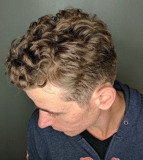 Natural Curly Hair Men