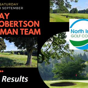 Hay Robertson 4 Man Team Results
