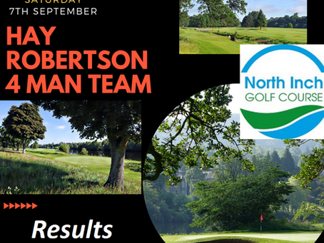 Hay Robertson 4 Man Team Results