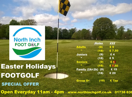 FootGolf Easter Holiday Special