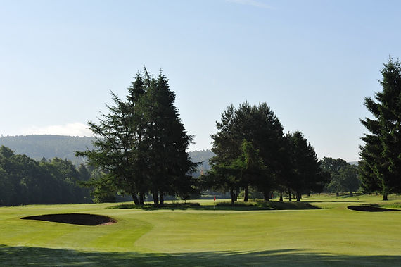 North Inch Golf Course. Perthshire. 2015